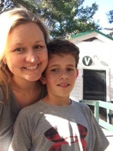 Annie Perley and Issac, Mother/Son Weekend